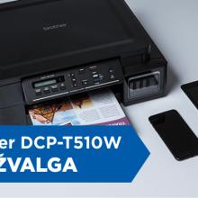 """Daugiafunkcinis spausdintuvas """"Brother DCP-T510W"""" ir biurui, ir namams <span style=color:red;>(apžvalga)</span>"""