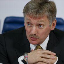 V. Putino atstovas: virš Kremliaus skraidę ginkluoti vyrai dalyvavo pratybose