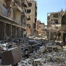 Maskva: cheminių atakų Sirijoje įrodymai buvo suklastoti