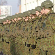 Klaipėdos gatvėse – Belgijos karinis konvojus