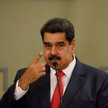 Rusija: JAV pagalba Venesuelai yra pretekstas kariniams veiksmams