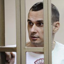 Rusijos žmogaus teisių įgaliotinė: režisieriaus O. Sencovo būklė stabili
