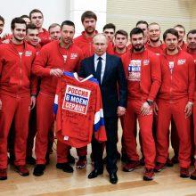 Dėl Rusijos sportininkų diskvalifikacijos panaikinimo bus kreipiamasi į teismą