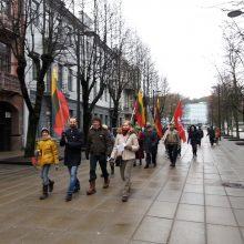 Kauno gatvių labirintais išrašytas Lietuvos vardas