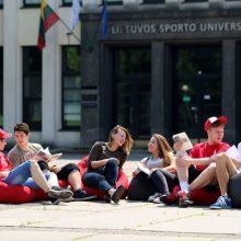 Spręs, ar Sporto universiteto prijungimas prie LSMU neprieštarauja Konstitucijai