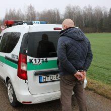 Įtariami ilgapirščiai Kauno pareigūnams įkliuvo praėjus vos valandai po vagystės