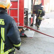 Pranešimas apie gaisrą Mažeikių mokykloje – nepagrįstas <span style=color:red;>(atnaujinta)</span>