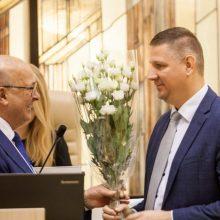 Perrinktas Kauno meras administracijos vadovo nekeis