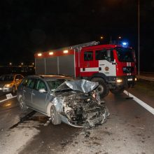 Užkeikta diena magistralėje: panašiu metu – keturios eismo nelaimės (atnaujinta)
