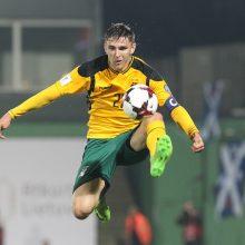 Lietuvos futbolo rinktinė neįveikė ir Maltos
