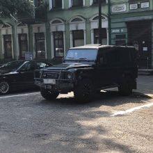 Automobilis registruotas užsienyje, tad už parkavimą Kaune mokėti nereikia?