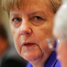A. Merkel poste liks ketvirtąjį kartą?