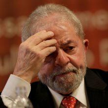 Brazilijos teismas: eksprezidentas L. da Silva turės atlikti įkalinimo bausmę