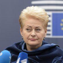 D. Grybauskaitė: Seimo komisijomis manęs užtildyti nepavyks