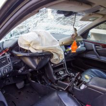 Avariją sukėlusiam vairuotojui – didesnis nei 3,5 promilės girtumas