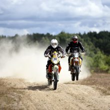 Ne Dakaras, bet išbandymų pakanka