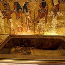 Egipto senienų ministerija: paslėptų kambarių šalia Tutanchamono kapo nėra