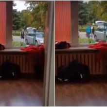 Paaiškėjo, ką iš mokyklos Kaune nešė valgyklos darbuotoja