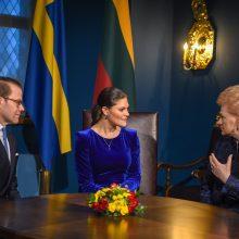 Švedijos princesė Vilniuje atidarė parodą apie darnų vystymąsi