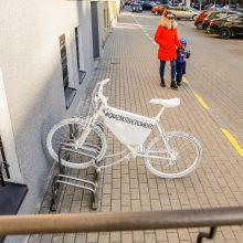Uostamiesčio valdininkams – žinutė nuo dviratininkų