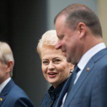 """Premjeras: prezidentės politiką iliustruoja """"tulpių paštas"""""""