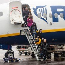 Į Kauno oro uostą grąžintas Anglijos taip ir nepasiekęs lėktuvas
