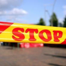 Rokiškio rajone tarnybas ant kojų sukėlė pavojingas sprogmuo