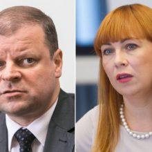 Premjeras: švietimo ministrė tapo savo vykdomų reformų auka