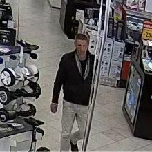 Šis vyras gali turėti informacijos apie vagystę – gal atpažįstate?