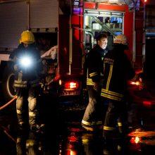 Pražūtingas gaisras Vilniuje nusinešė žmogaus gyvybę