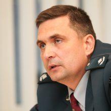 Pajėgos: A.Chramino teigimu, vienu metu Kauno rajono teritorijoje patruliuoja mažiausiai septyni policijos ekipažai.