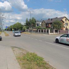 Saugumas: Partizanų ir Dubingių gatvių sankryža taps iškili ir taip privers vairuotojus pristabdyti.