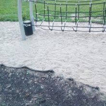 Ragina suklusti mažamečių tėvus: Kalniečių parke gresia pavojus