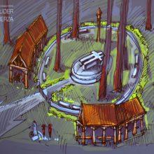 Vaizdas: pristatyta S.Dariaus ir S.Girėno žūties Pščelniko miške vizija.