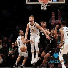 """D. Sabonis prie """"Pacers"""" pergalės prisidėjo 17 taškų"""
