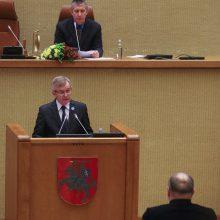 Minint Laisvės gynėjų dieną septyniems partizanams įteikta Laisvės premija