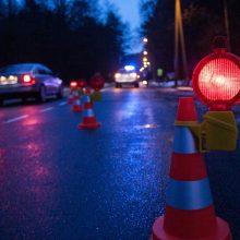 Kauno rajone mikroautobusas partrenkė pėsčiąjį