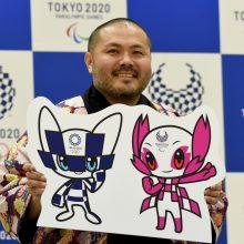 2020-ųjų Tokijo olimpiados talismanu išrinktas didžiaakis superherojus