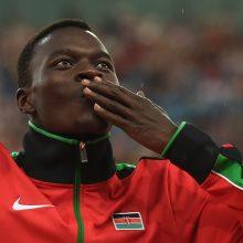 Kenijoje per avariją žuvo pasaulio čempionas