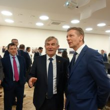 V. Pranckietis: Klaipėda – Lietuvos transporto ir energetikos širdis