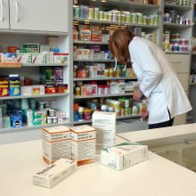 Gamintojai perspėja: vaistinėse trūksta kai kurių preparatų