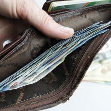 Iš neužrakinto kabineto pavogta piniginė