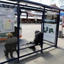 Autobusų stotelėje Klaipėdoje sumušė paauglį