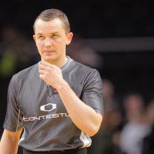 Lietuvos krepšinio teisėjai grįžta į didžiąją sceną