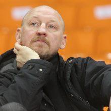 A. Skarbalius: šį sezoną A lygoje nėra lengvų rungtynių