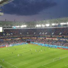 Per sieną – į pasaulio futbolo čempionato šventę