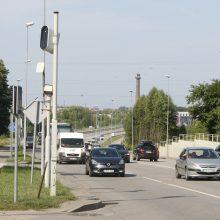 Lietuvoje bus įrengiami 30 naujų greičio matuoklių