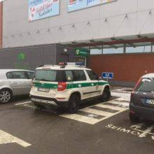 Policijos automobilis kėlė diskusijų audrą