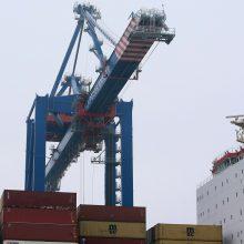 Kinijos krovinių Klaipėdoje nesimato?