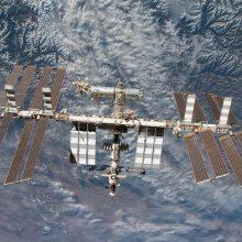Trys astronautai pasiekė TKS, kur vykdys penkis mėnesius truksiančią misiją